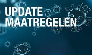 Aanpassingen ivm gewijzigde Coronabeleid (16 oktober 2020)